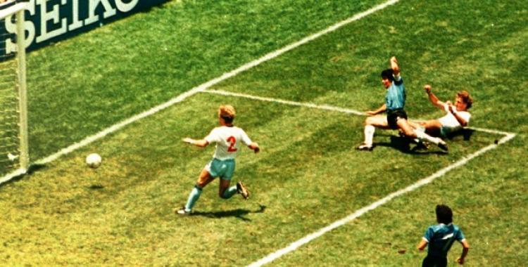 VIDEO Se cumplen 35 años del Gol del Siglo que Maradona le hizo a los ingleses en el Mundial 86' | El Diario 24